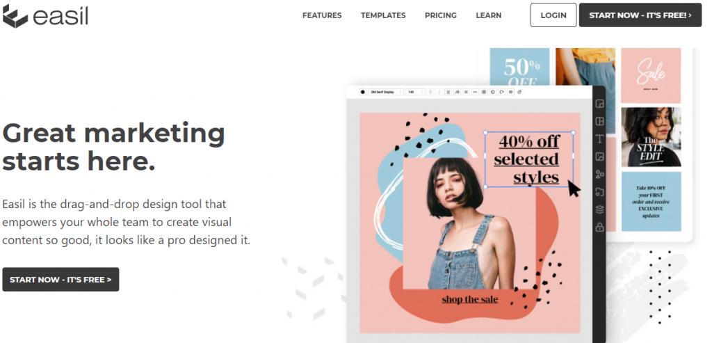 Best image design tool for social media promotion